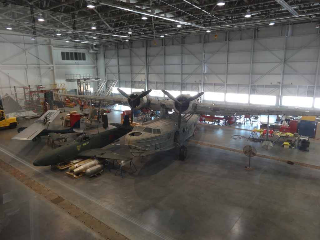 The Smithsonian's Sikorsky JRS-1 flying boat has been undergoing restoration for more than a year.